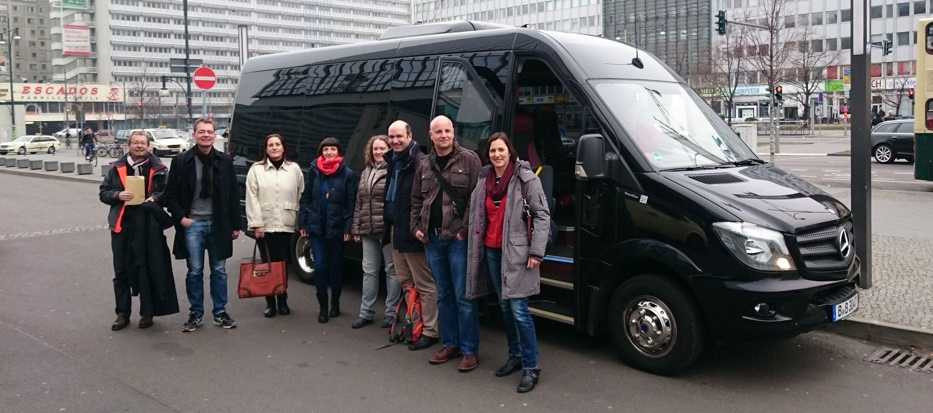 Start Stadtrundfahrt Berlin