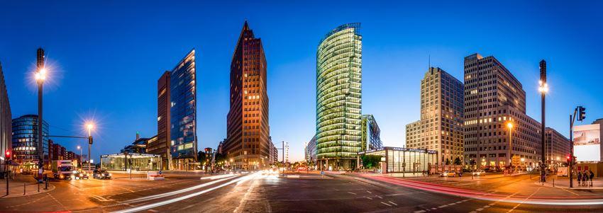 Der Potsdamer Platz ist Teil der Stadtrundfahrt Berlin